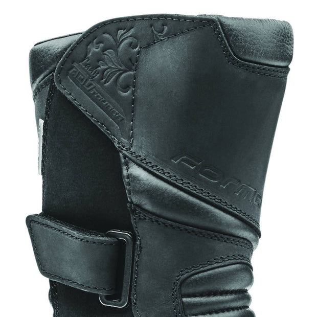 Forma ADV Tourer Lady motorcycle boots, black shin