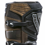 Forma Adventure motorcycle boots brown shin