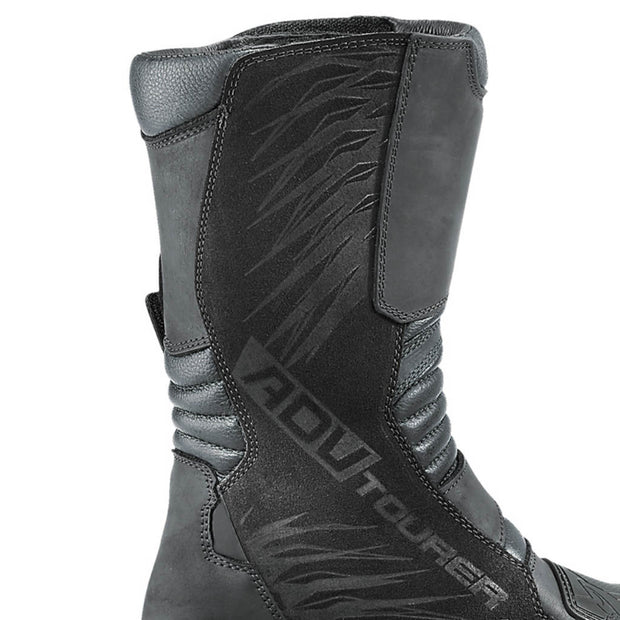 Forma ADV Tourer motorcycle boots heat