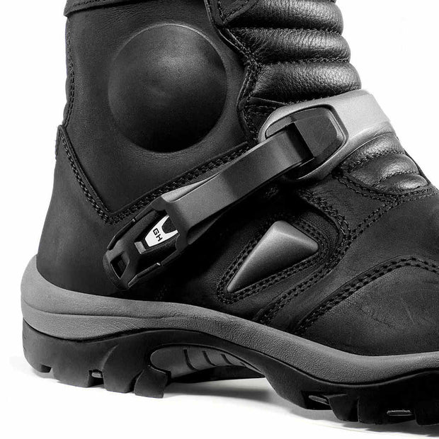 Forma Adventure motorcycle boots black ankle protection