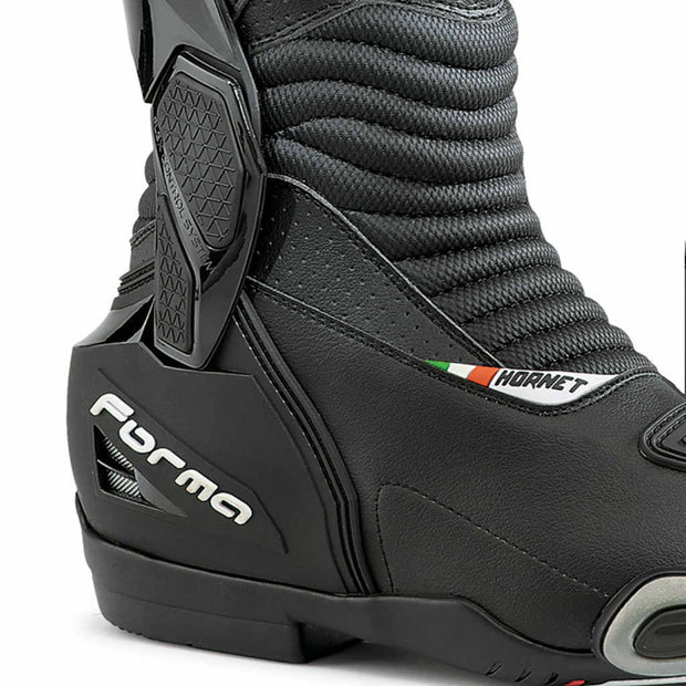 Forma Hornet Dry motorcycle boots black ankle