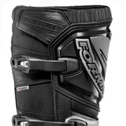 Forma Adventure motorcycle boots black shin protection