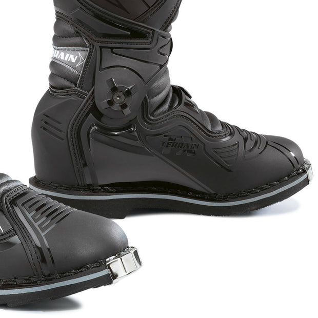 forma terrain tx motocross motorcycle boots black toe protection