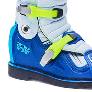 Forma Terrain TX motocross motorcycle boots neon fluro blue Ankle protection