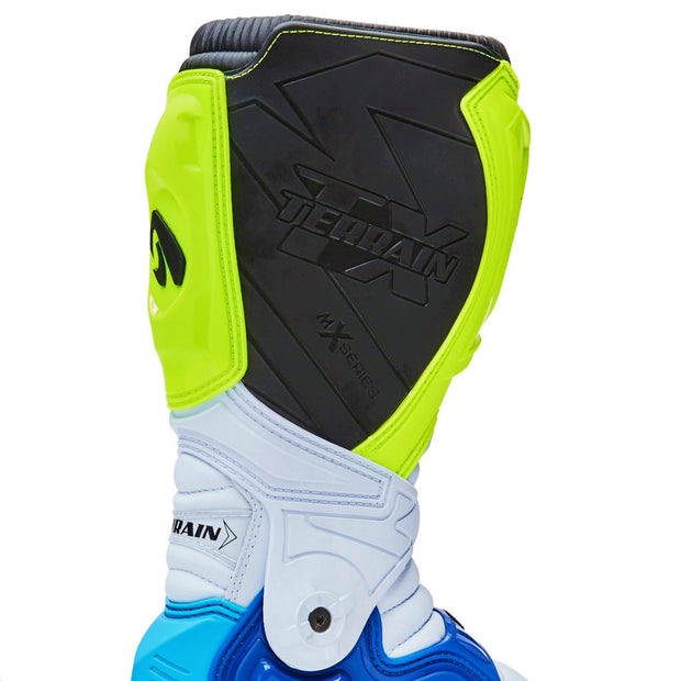 Forma Terrain TX motocross motorcycle boots neon heat protection