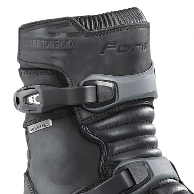 Forma Adventure Low motorcycle boots black upper