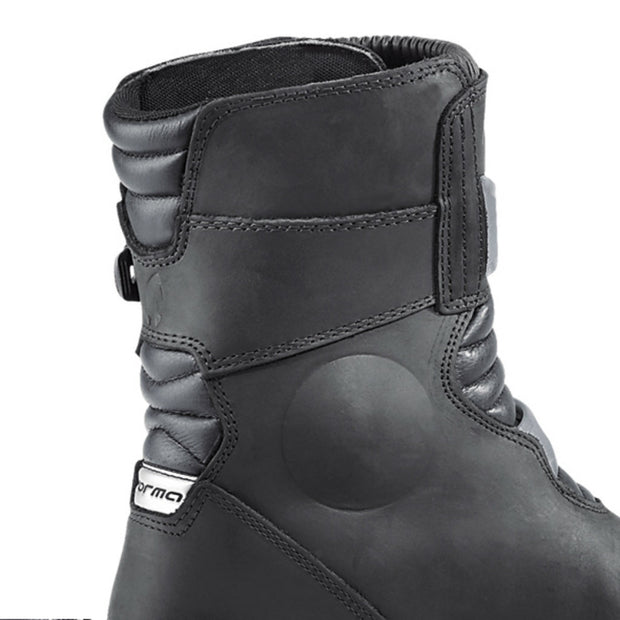 Forma Adventure Low motorcycle boots black inside leg