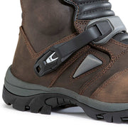 Forma Adventure Low motorcycle boots brown ankle protection
