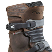 Forma Adventure Low motorcycle boots brown upper