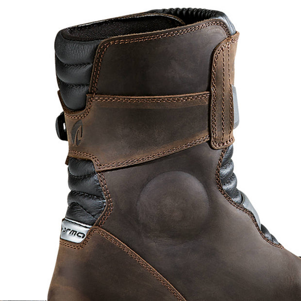 Forma Adventure Low motorcycle boots brown inside