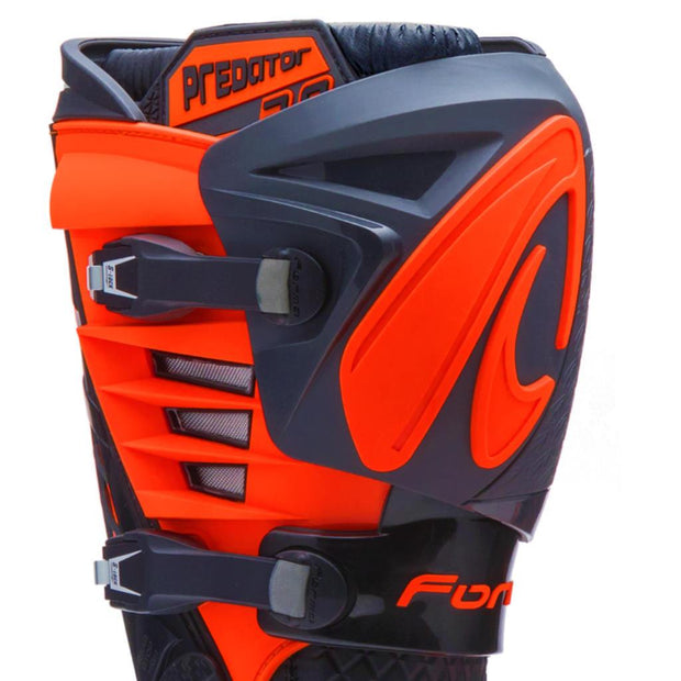 PREDATOR 2.0 - BLACK / ANTHRACITE / ORANGE