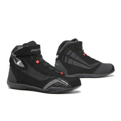 Forma Genesis motorcycle boots, black urban city street ride shoe