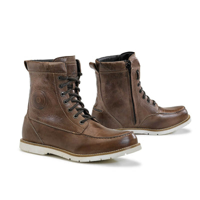 Forma Naxos motorcycle boots brown urban footwear