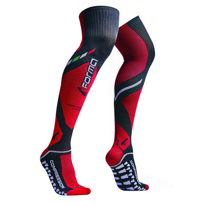 FORMA LONG OFFROAD SOCKS - BLACK / RED