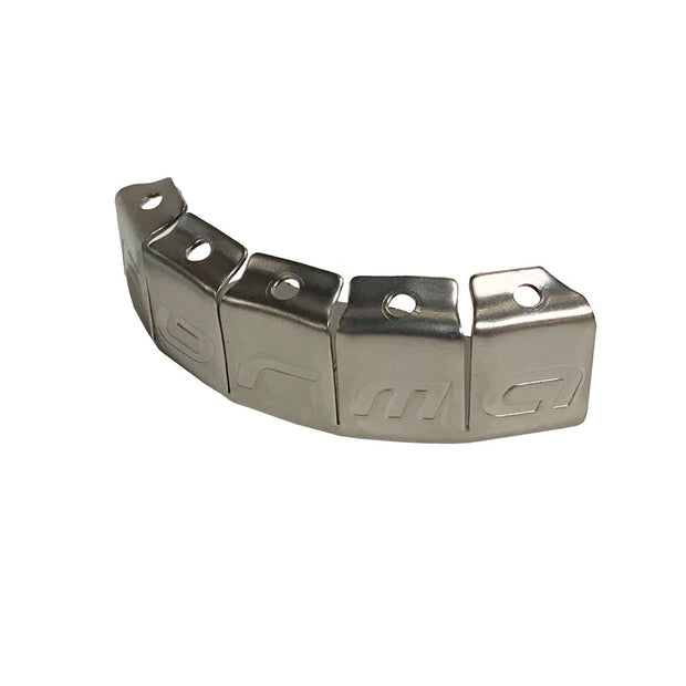 TOE CAP STAINLESS (EACH) - SILVER