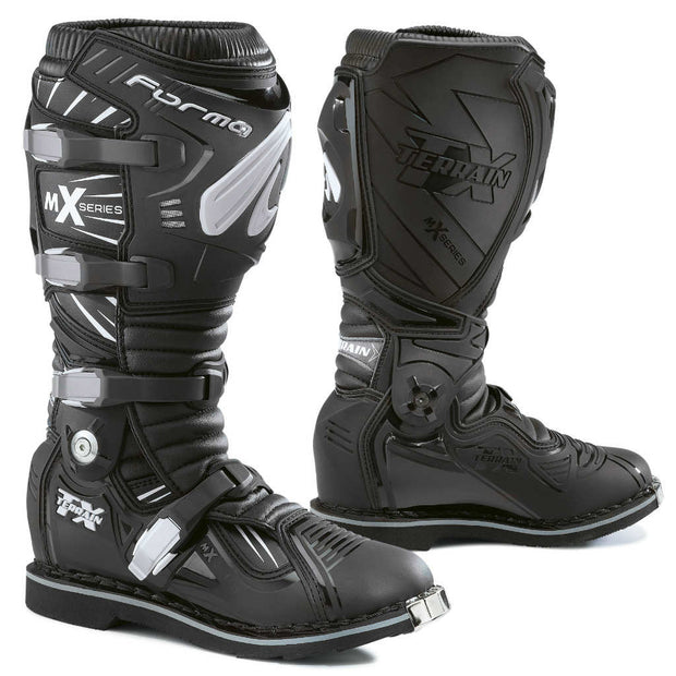 forma terrain tx motocross motorcycle boots black