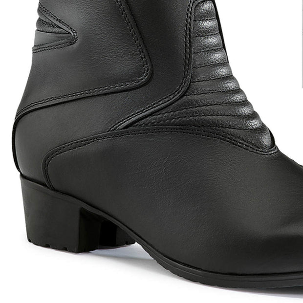forma ruby womens motorcycle boots high heel
