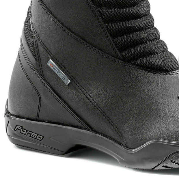 Forma Nero motorcycle boots, black, ankle