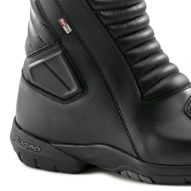Forma Jasper motorcycle boots, black, ankle