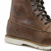 Forma Naxos motorcycle boots brown urban footwear heel protection