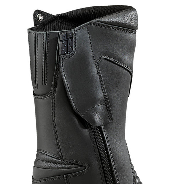 forma ruby womens motorcycle boots zip velcro closure