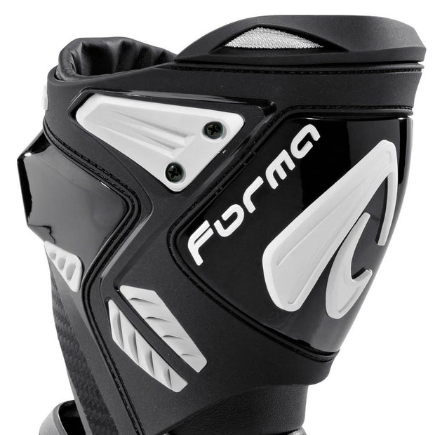 Forma Ice Pro Flow motorcycle boots black shin