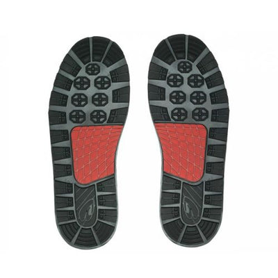 SOLE TRIALS (PAIR) - BLACK / RED