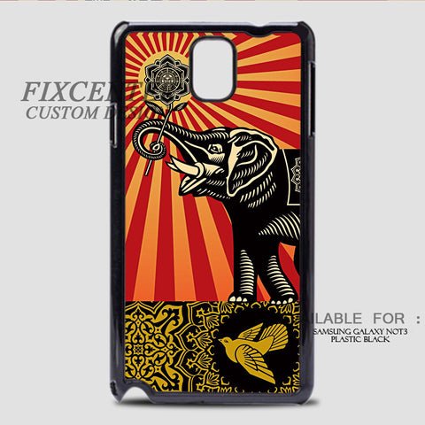 ELEPHANS OBEY - Samsung Galaxy Note 3 Case , Samsung Galaxy Note 3 Case - fixcenters, fixcenters  - 1