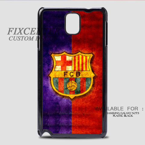 FC BARCELONA - Samsung Galaxy Note 3 Case Black, Samsung Galaxy Note 3 Case - fixcenters, fixcenters  - 1