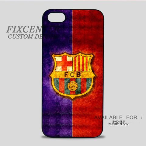 FC BARCELONA - iPhone 5/5S Case iPhone 5 / Plastic / Black, iPhone 5/5S Case - fixcenters, fixcenters  - 1
