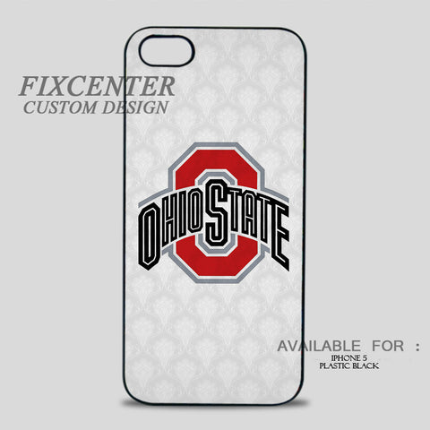 OHIO STATE LOGO - iPhone 5/5S Case iPhone 5 / Plastic / Black, iPhone 5/5S Case - fixcenters, fixcenters  - 1