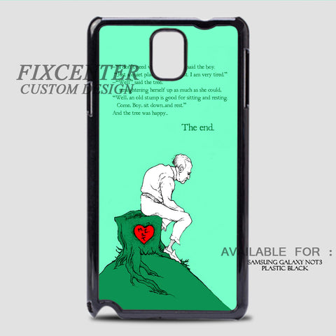 THE GIVING TREE SPREAD - Samsung Galaxy Note 3 Case Black, Samsung Galaxy Note 3 Case - fixcenters, fixcenters  - 1