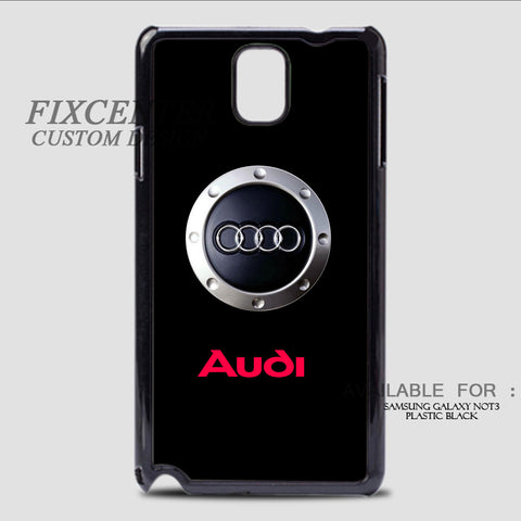 AUDI ENGINE SYMBOL - Samsung Galaxy Note 3 Case Black, Samsung Galaxy Note 3 Case - fixcenters, fixcenters  - 1