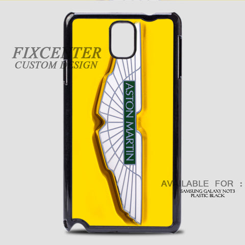 ASTON MARTIN - Samsung Galaxy Note 3 Case Black, Samsung Galaxy Note 3 Case - fixcenters, fixcenters  - 1
