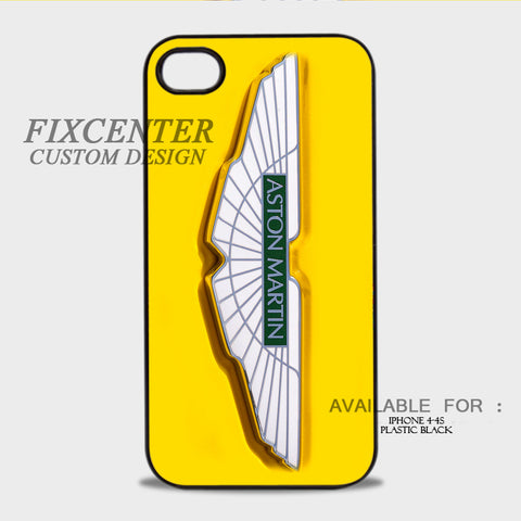 ASTON MARTIN - iPhone 4/4S Case Plastic / Black, iPhone 4/4S Case - fixcenters, fixcenters  - 1
