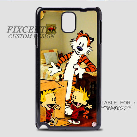 CALVIN AND HOBBES DUPLICATOR - Samsung Galaxy Note 3 Case Black, Samsung Galaxy Note 3 Case - fixcenters, fixcenters  - 1