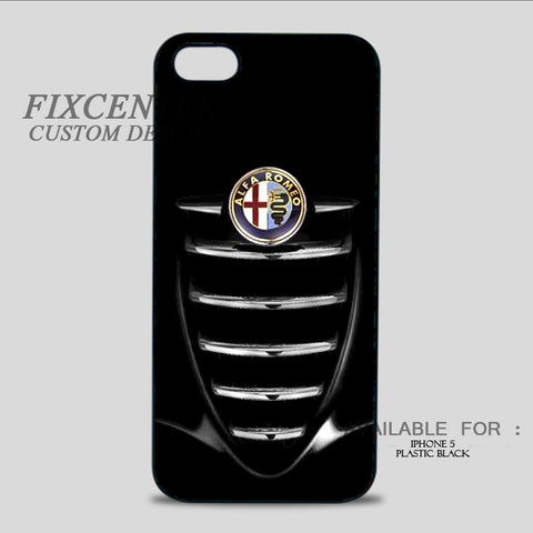 ALFA ROMEO Grille - iPhone 5/5S Case iPhone 5 / Plastic / Black, iPhone 5/5S Case - fixcenters, fixcenters  - 1