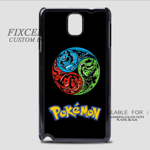 POKEMON VENUSAURBLASTOISE BALL - Samsung Galaxy Note 3 Case Black, Samsung Galaxy Note 3 Case - fixcenters, fixcenters  - 1