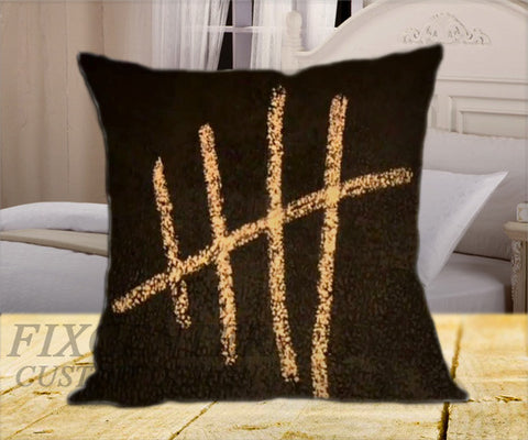 "5 seconds of summer  on Square Pillow Cover 16"" X 16"" / one side, Square Pillow Case - fixcenters, fixcenters"