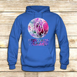 5 seconds of Summer Galaxy Logo on Hoodie Jacket XS / Blue, hoodie - fixcenters, fixcenters  - 2