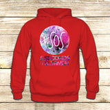5 seconds of Summer Galaxy Logo on Hoodie Jacket XS / Red, hoodie - fixcenters, fixcenters  - 5
