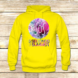 5 seconds of Summer Galaxy Logo on Hoodie Jacket XS / Yellow, hoodie - fixcenters, fixcenters  - 7