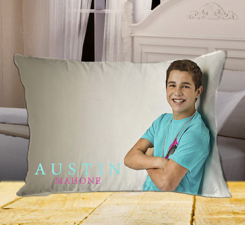 "Austin Mahone on Rectangle Pillow Cover 20"" X 26"" / one side, Rectangle Pillow Case - fixcenters, fixcenters"