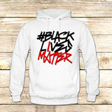 BLACK LIVES MATTER Typography on Hoodie Jacket XS / White, hoodie - fixcenters, fixcenters  - 6