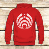 Bassnectar on Hoodie Jacket XS / Red, hoodie - fixcenters, fixcenters  - 5