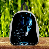 Batman The DarkKnight cute Pre-School Backpack - School Bag Small (S) / White, School Bag - fixcenters, fixcenters  - 5