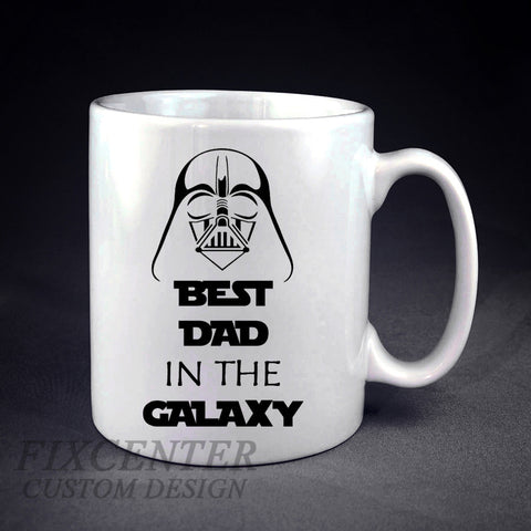 Best Dad in the Galaxy Personalized mug/cup , mug / cup - fixcenters, fixcenters  - 1