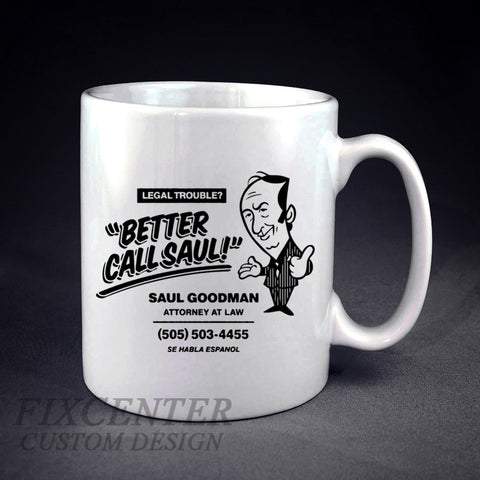 Breaking Bad Better Call Saul Personalized mug/cup , mug / cup - fixcenters, fixcenters  - 1