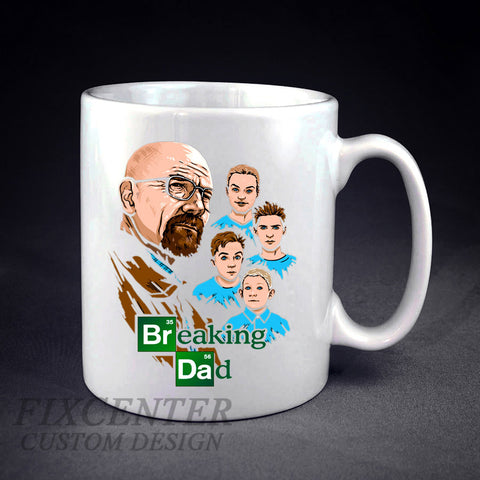 Breaking Dad  Fathers Day Gift Birthday Gift Personalized mug/cup , mug / cup - fixcenters, fixcenters  - 1