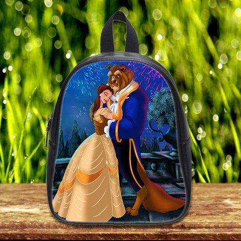 Disney Beauty and the Beast cute Pre-School Backpack - School Bag Small (S) / Black, School Bag - fixcenters, fixcenters  - 1